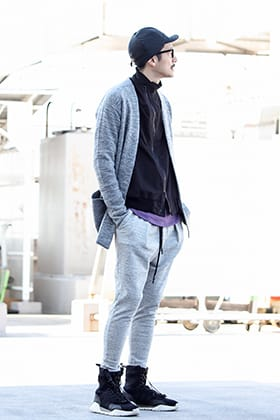 .LOGY kyoto RIPVANWIKLE × JULIUS【 GRAY COLOR 】Styling!!!