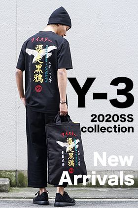 Y-3 20 spring summer collection First Delivery !!