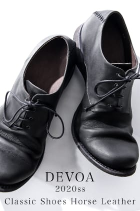 DEVOA 20SS Classic shoes COLLECTION