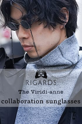 The Viridi-anne × RIGARDS collaboration sunglasses