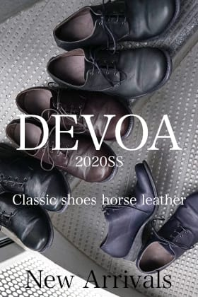 DEVOA 20SS Classic Shoes Horse Leather New Arrivals