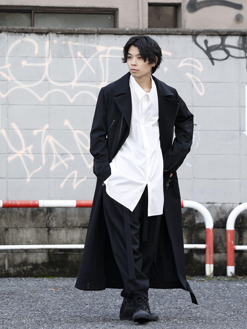 Yohji Yamamoto 20SS Long RIders Dress Gabardine Style - 1-001
