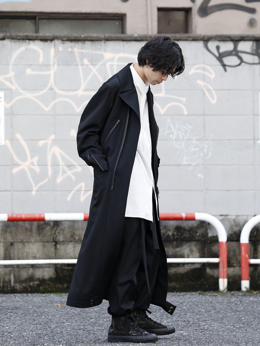 Yohji Yamamoto 20SS Long RIders Dress Gabardine Style - 1-002