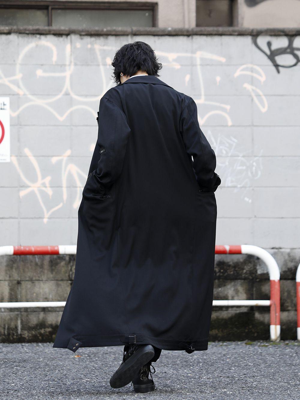 Yohji Yamamoto 20SS Long RIders Dress Gabardine Style - 1-003