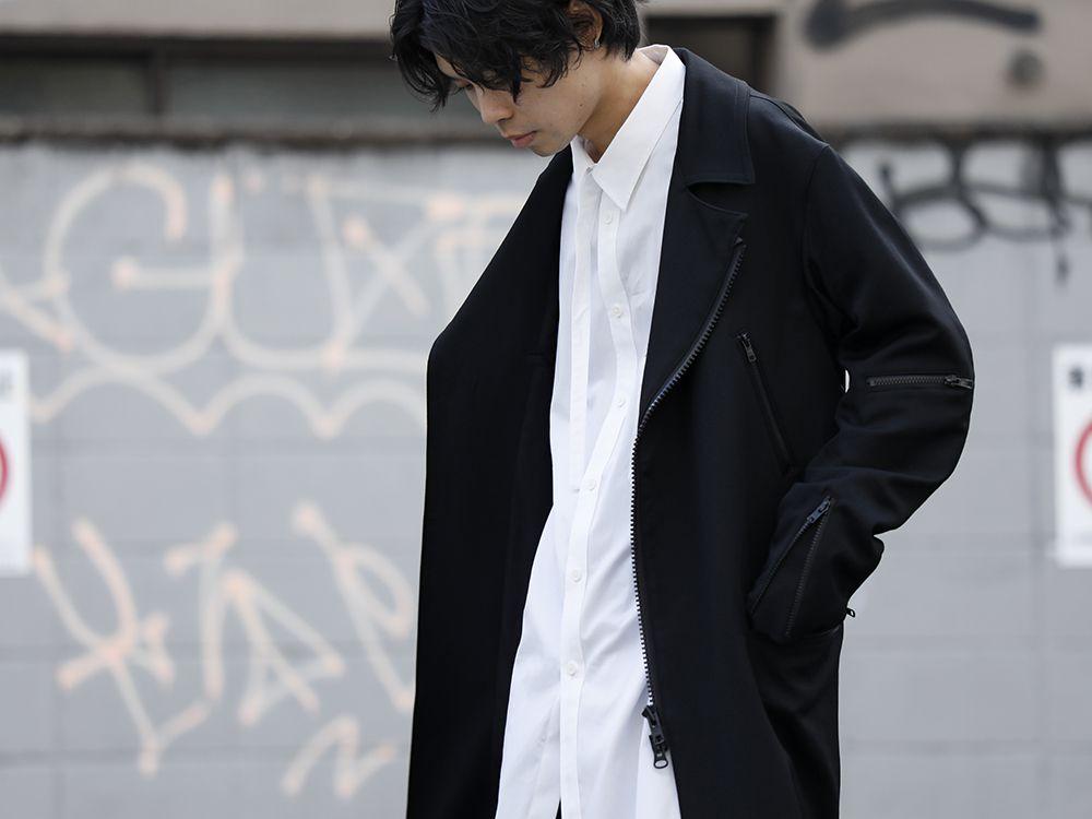 Yohji Yamamoto 20SS Long RIders Dress Gabardine Style - 2-001