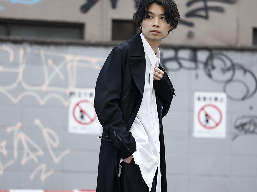 Yohji Yamamoto 20SS Long RIders Dress Gabardine Style - 2-002