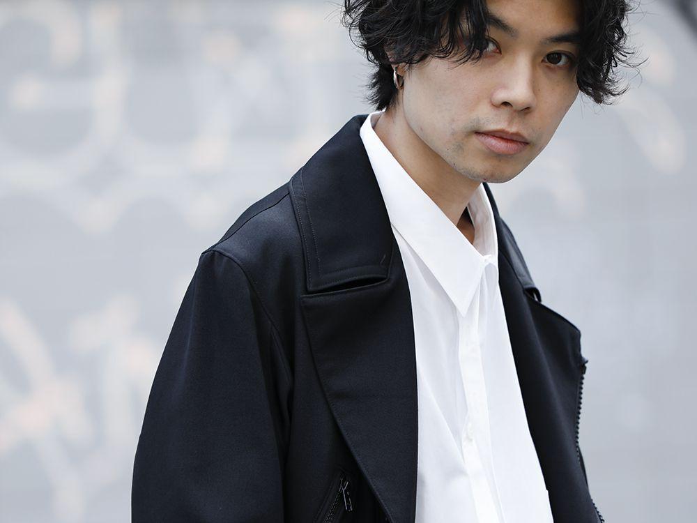Yohji Yamamoto 20SS Long RIders Dress Gabardine Style - 2-003
