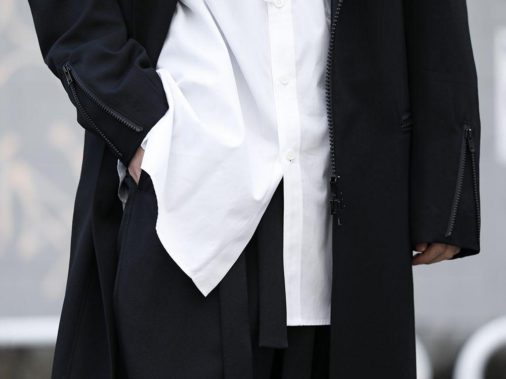 Yohji Yamamoto 20SS Long RIders Dress Gabardine Style - 2-004