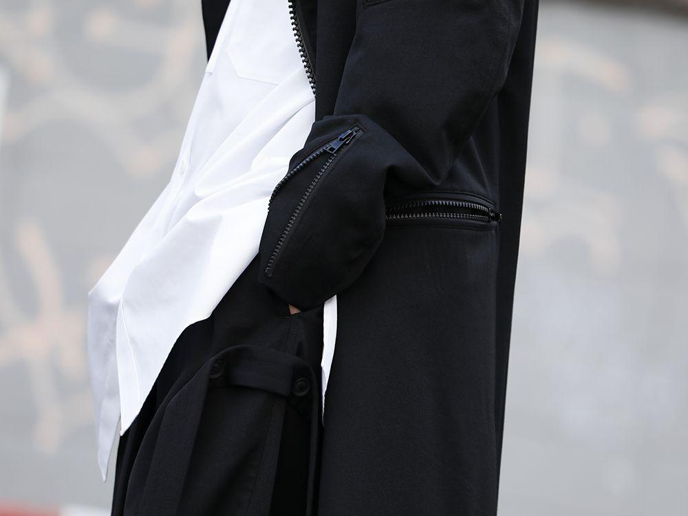 Yohji Yamamoto 20SS Long RIders Dress Gabardine Style - 2-005