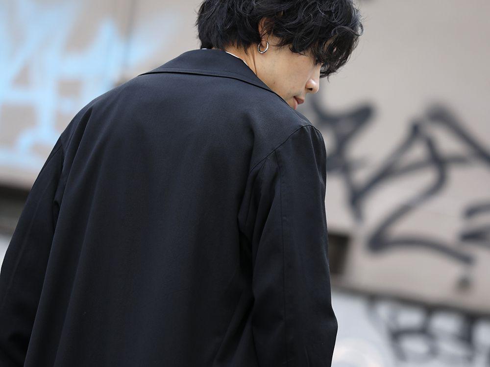 Yohji Yamamoto 20SS Long RIders Dress Gabardine Style - 2-006