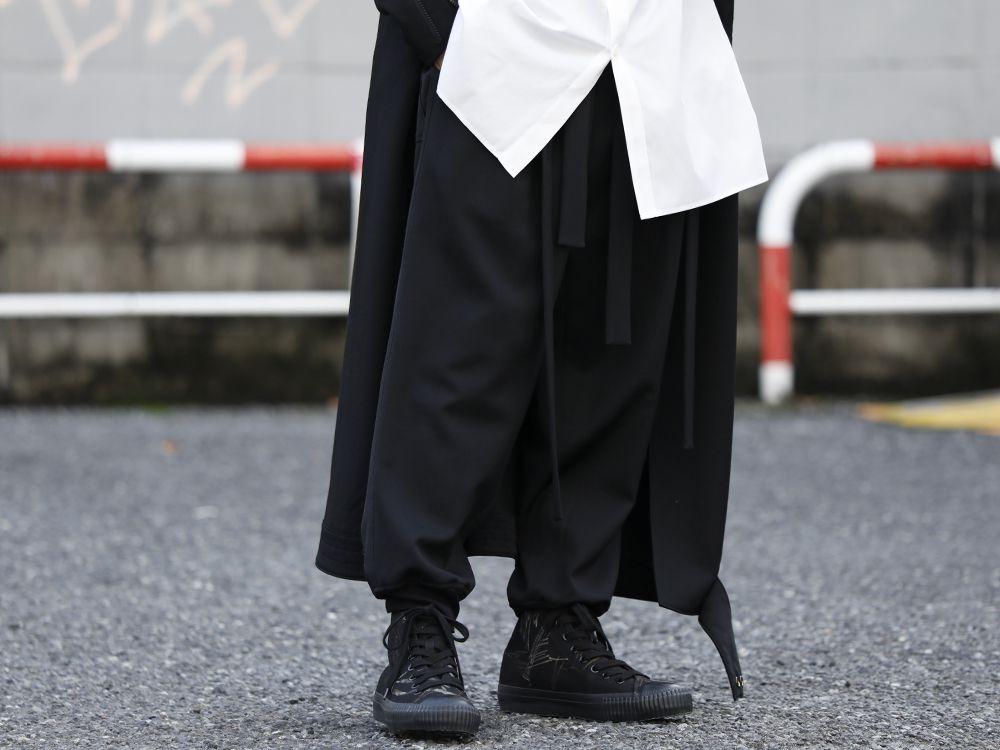 Yohji Yamamoto 20SS Long RIders Dress Gabardine Style - 3-001