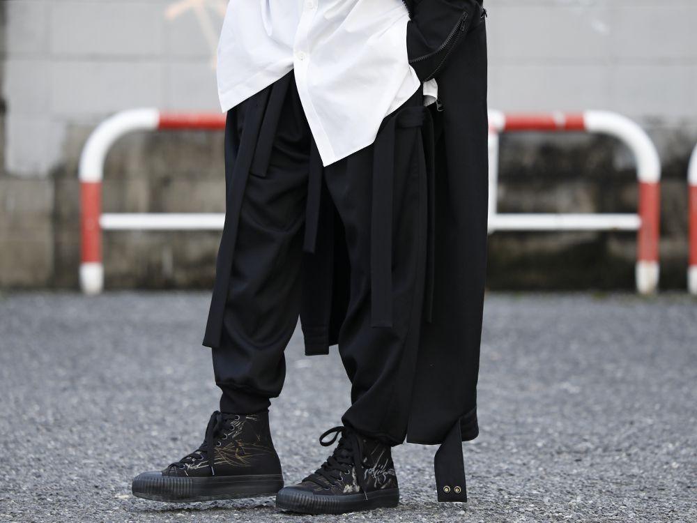 Yohji Yamamoto 20SS Long RIders Dress Gabardine Style - 3-002