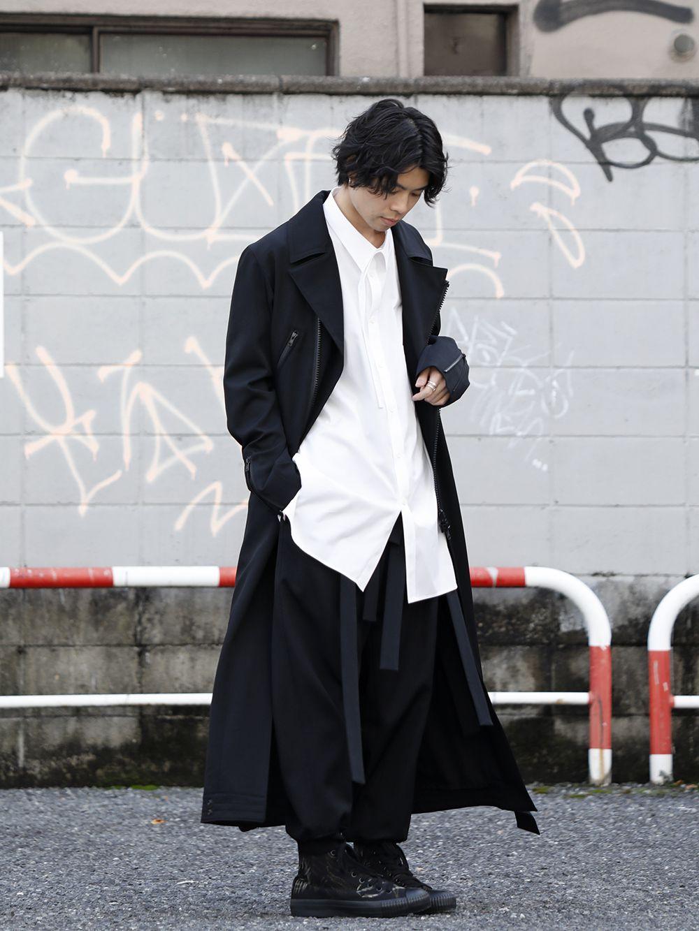 Yohji Yamamoto 20SS Long RIders Dress Gabardine Style - 4-001