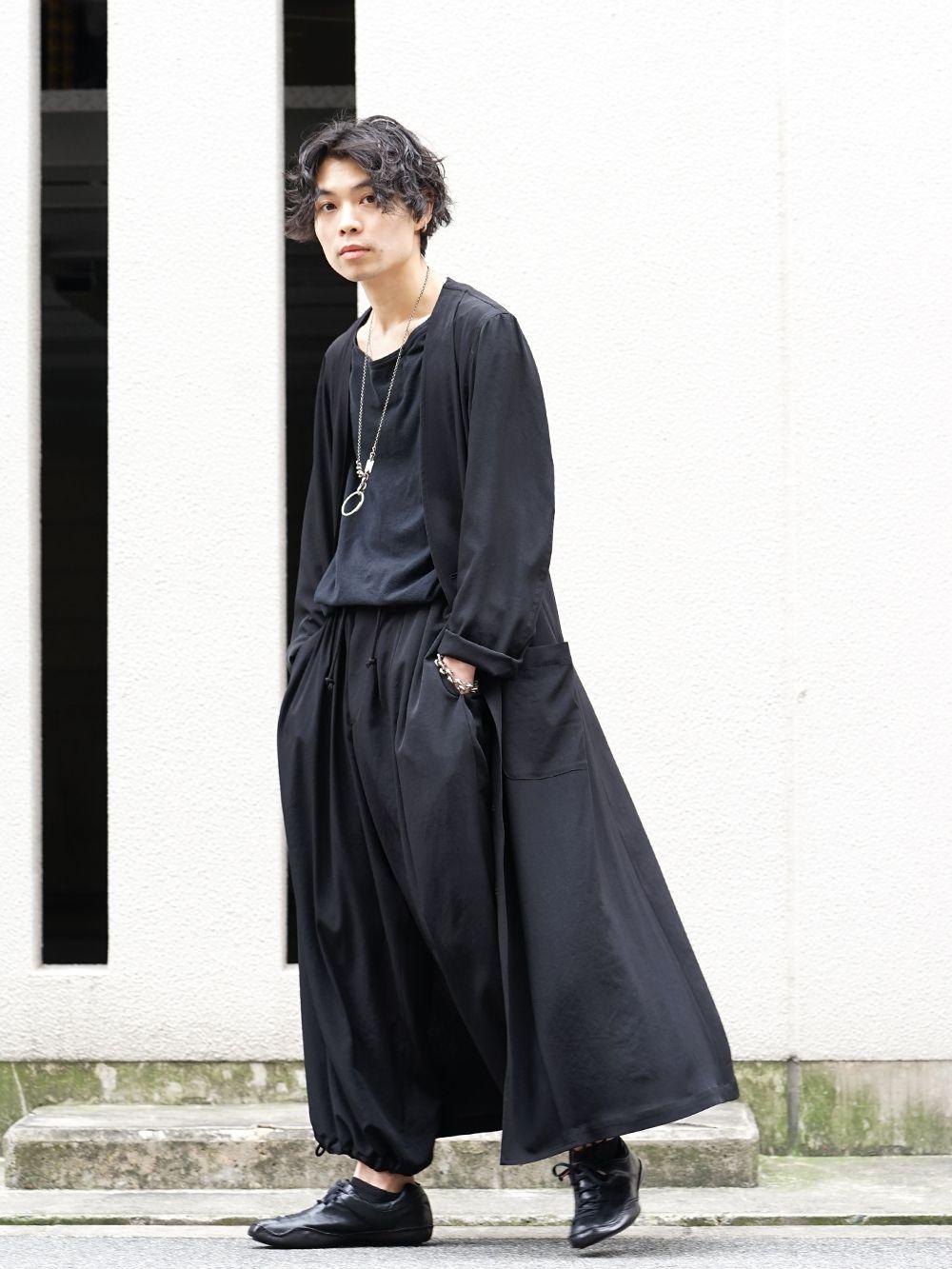 Yohji Yamamoto 20SS I-Hide Piping PK Dress - 1-001