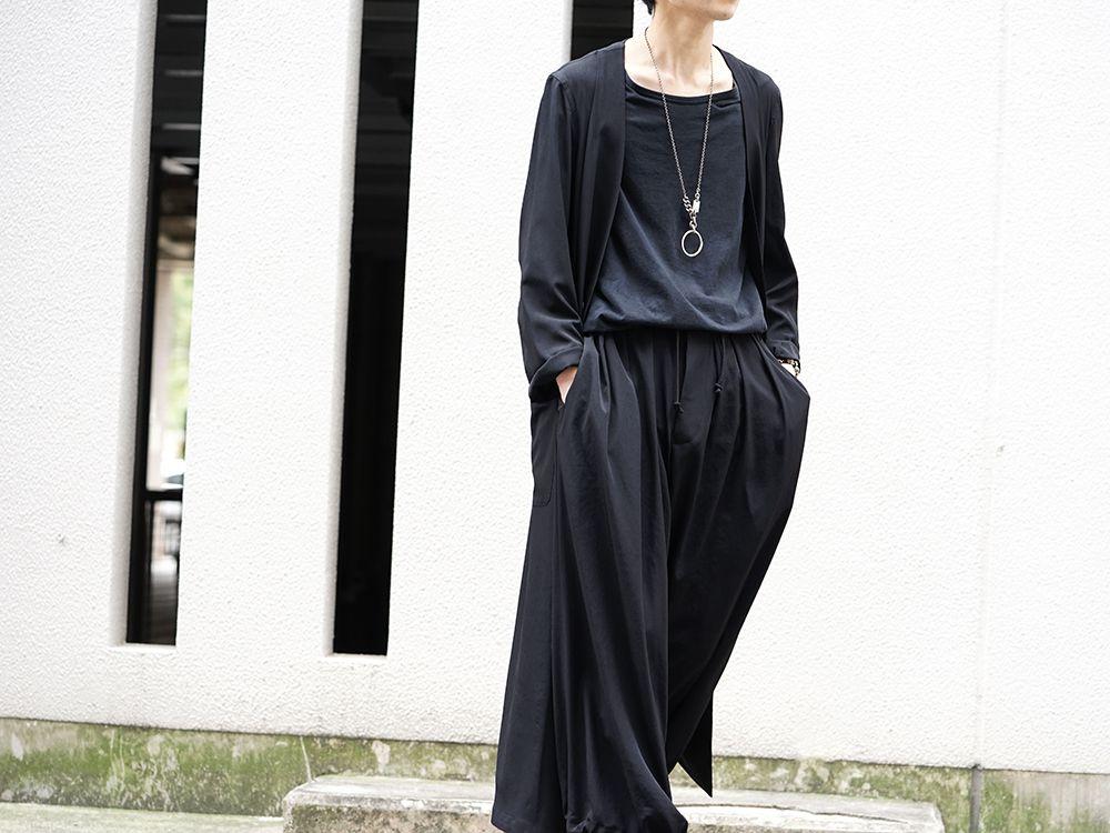 Yohji Yamamoto 20SS I-Hide Piping PK Dress - 2-001