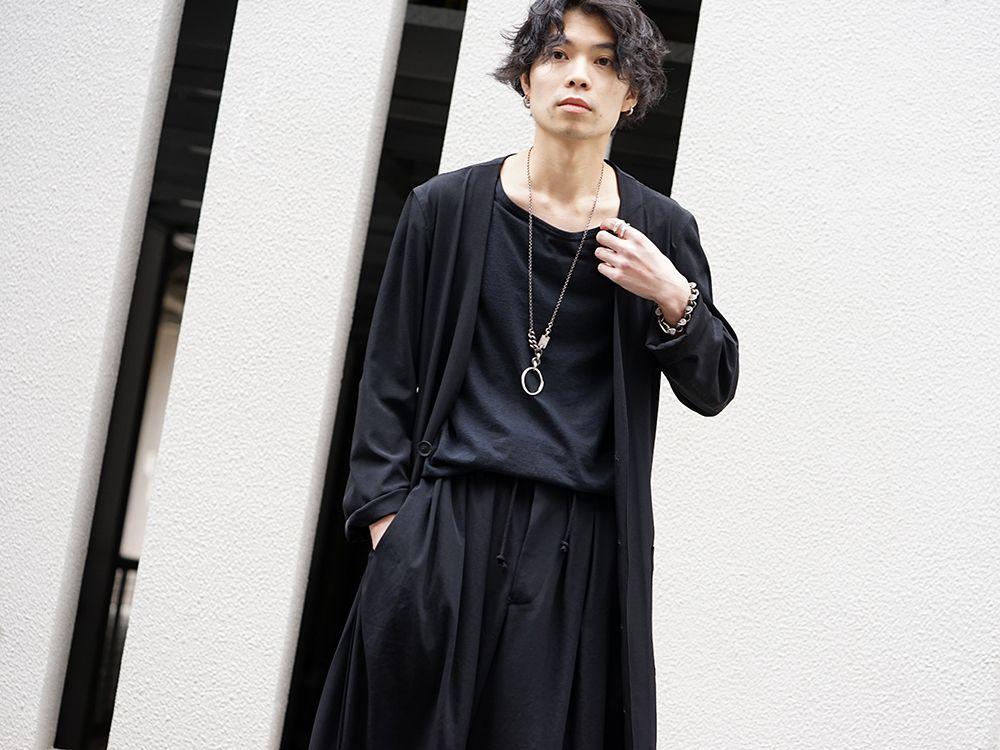 Yohji Yamamoto 20SS I-Hide Piping PK Dress - 2-002