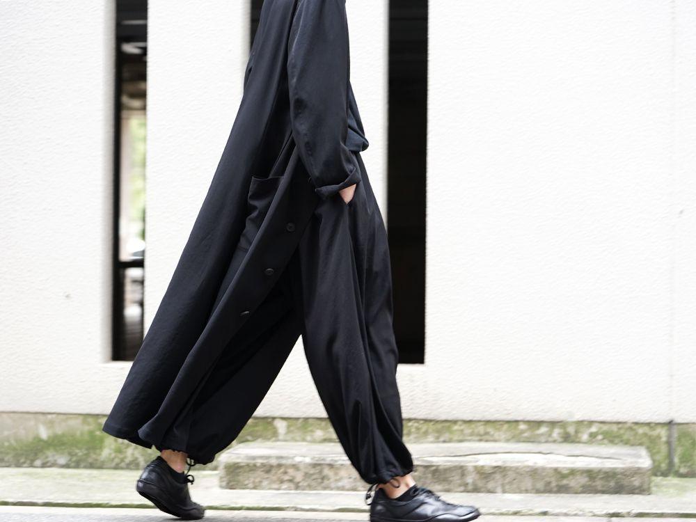 Yohji Yamamoto 20SS I-Hide Piping PK Dress - 2-004