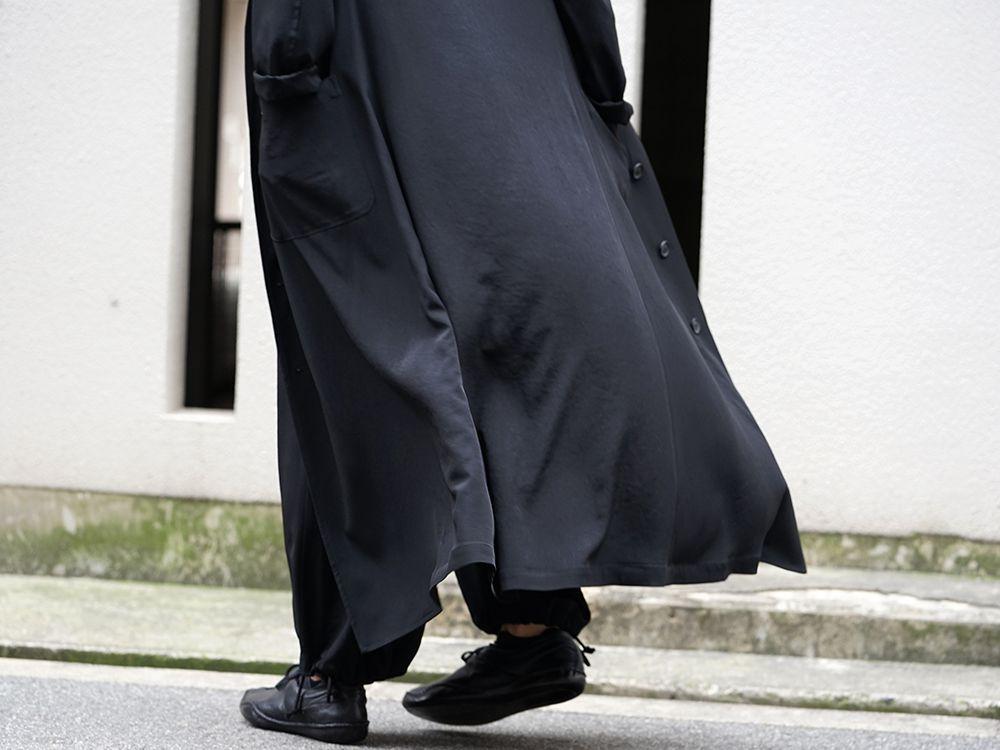 Yohji Yamamoto 20SS I-Hide Piping PK Dress - 2-005