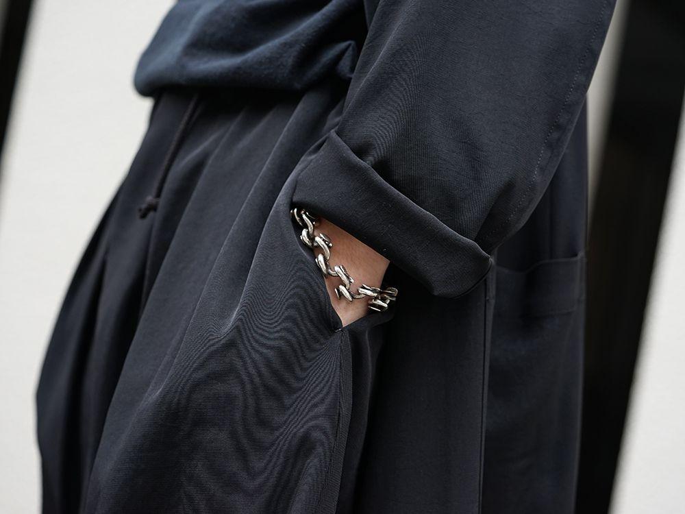 Yohji Yamamoto 20SS I-Hide Piping PK Dress - 2-006