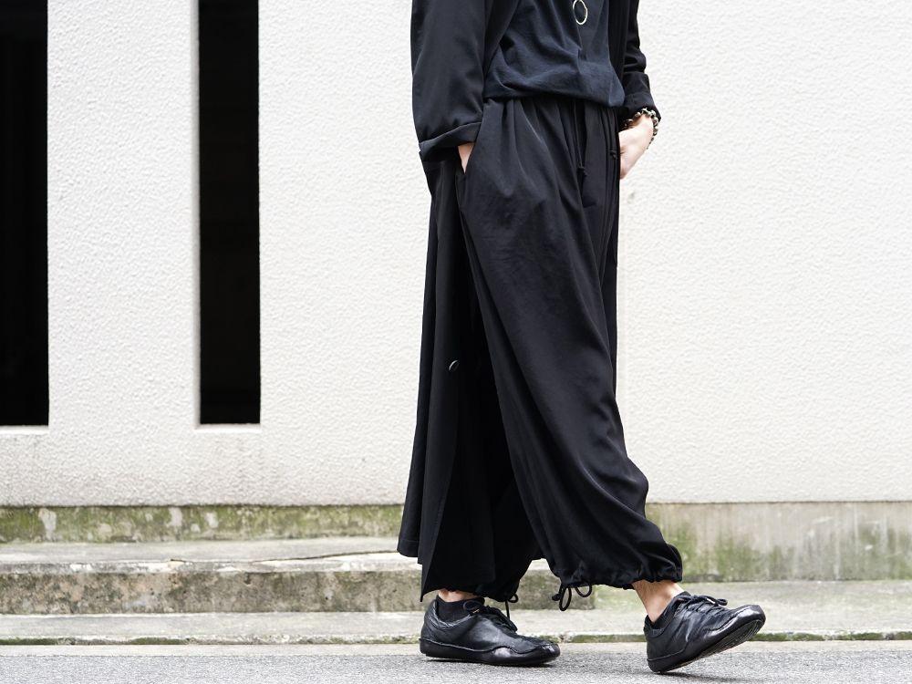 Yohji Yamamoto 20SS I-Hide Piping PK Dress - 3-003