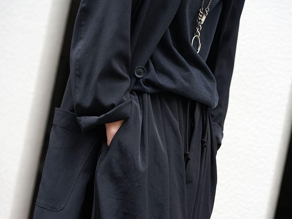 Yohji Yamamoto 20SS I-Hide Piping PK Dress - 3-004