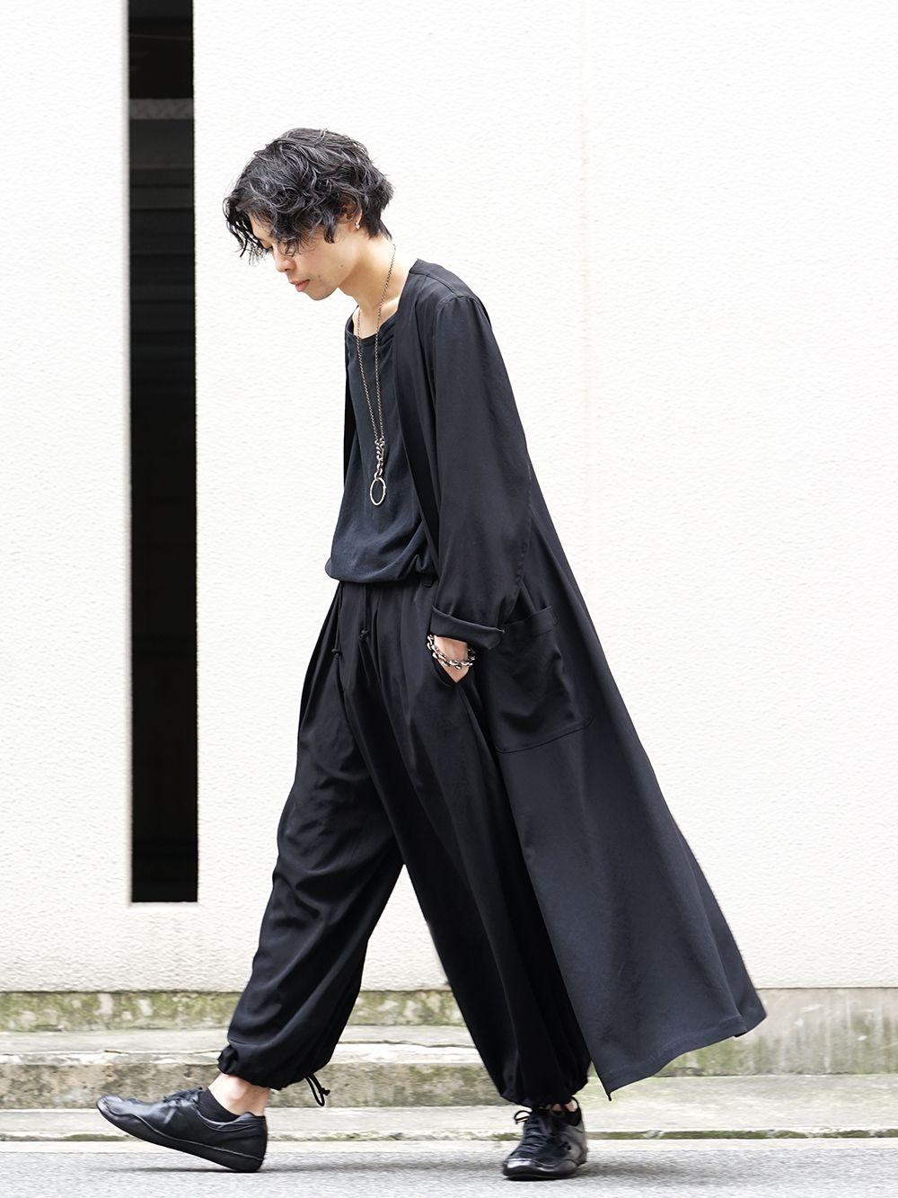 Yohji Yamamoto 20SS I-Hide Piping PK Dress - 4-001