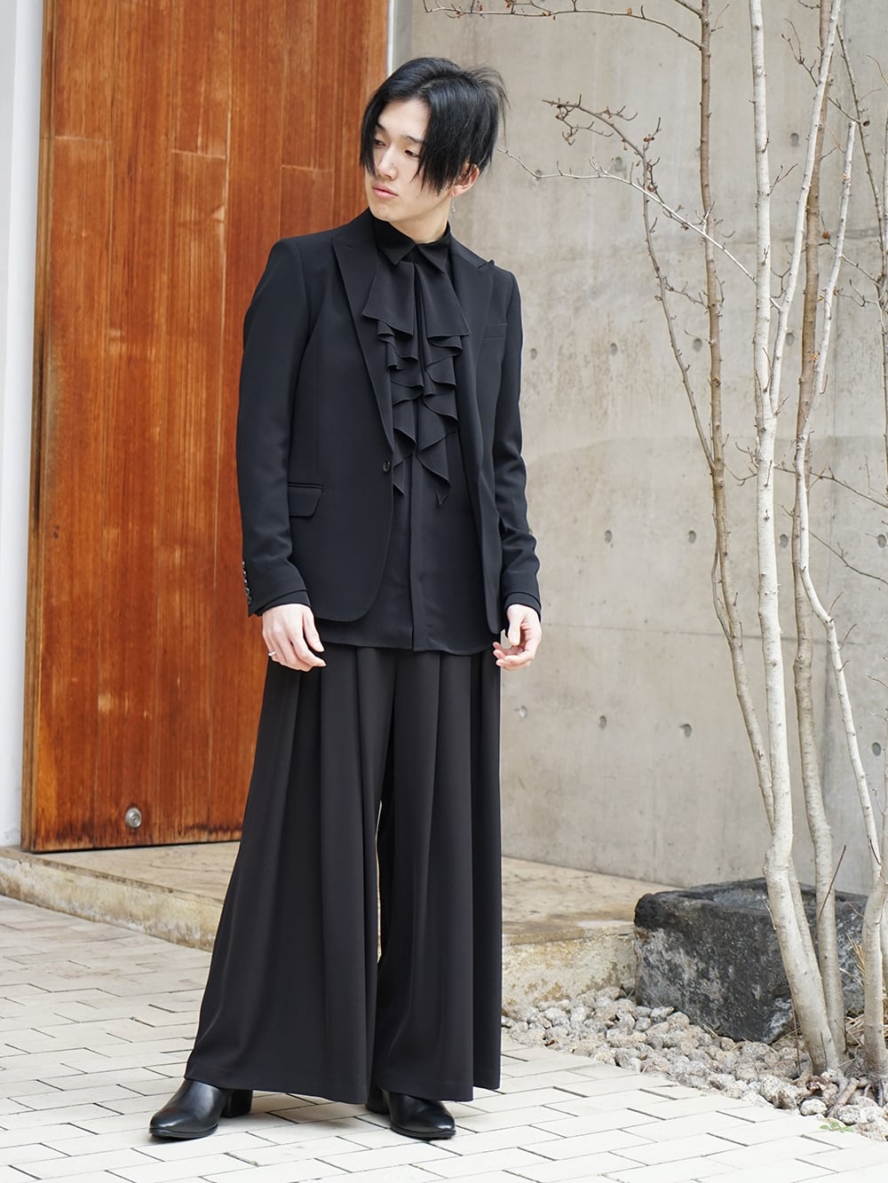 Galaabend 2020SS Black Dress Styling - 1-001