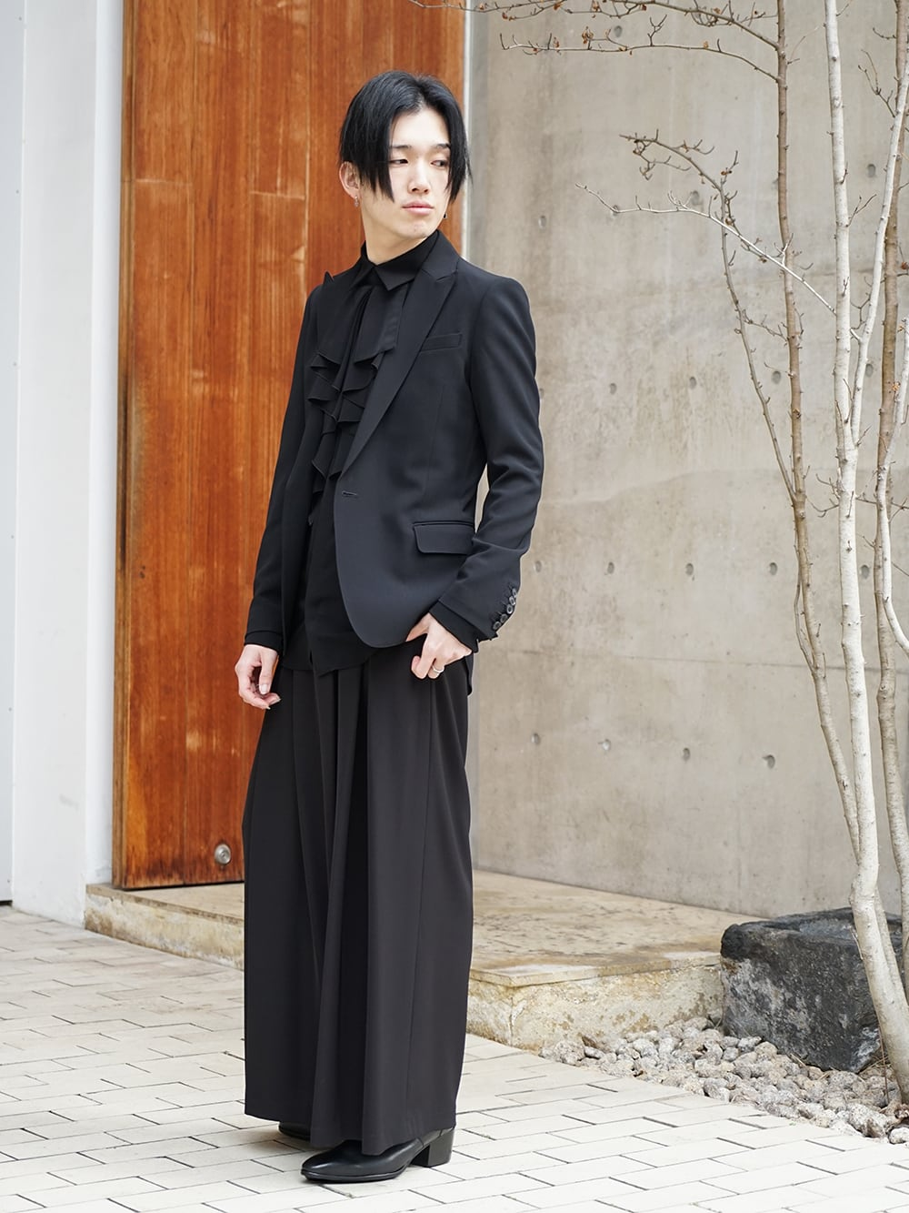 Galaabend 2020SS Black Dress Styling - 1-002