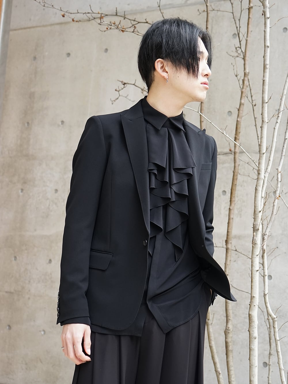 Galaabend 2020SS Black Dress Styling - 2-003