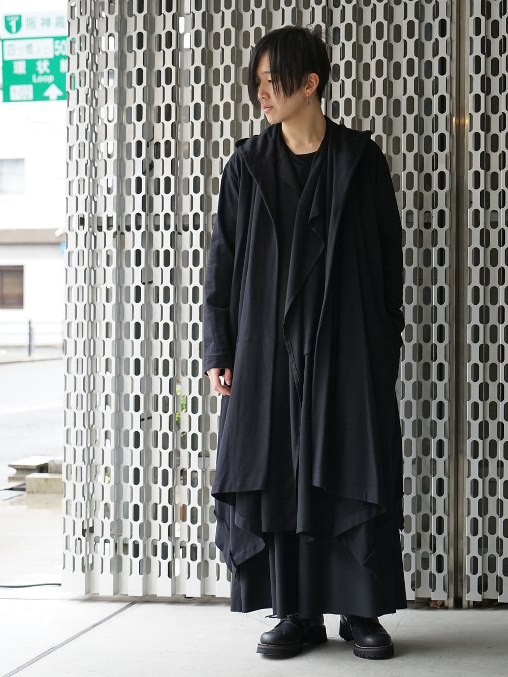 Ground Y × The Viridi-anne 20SS Black Drape Styling !! - 1-001