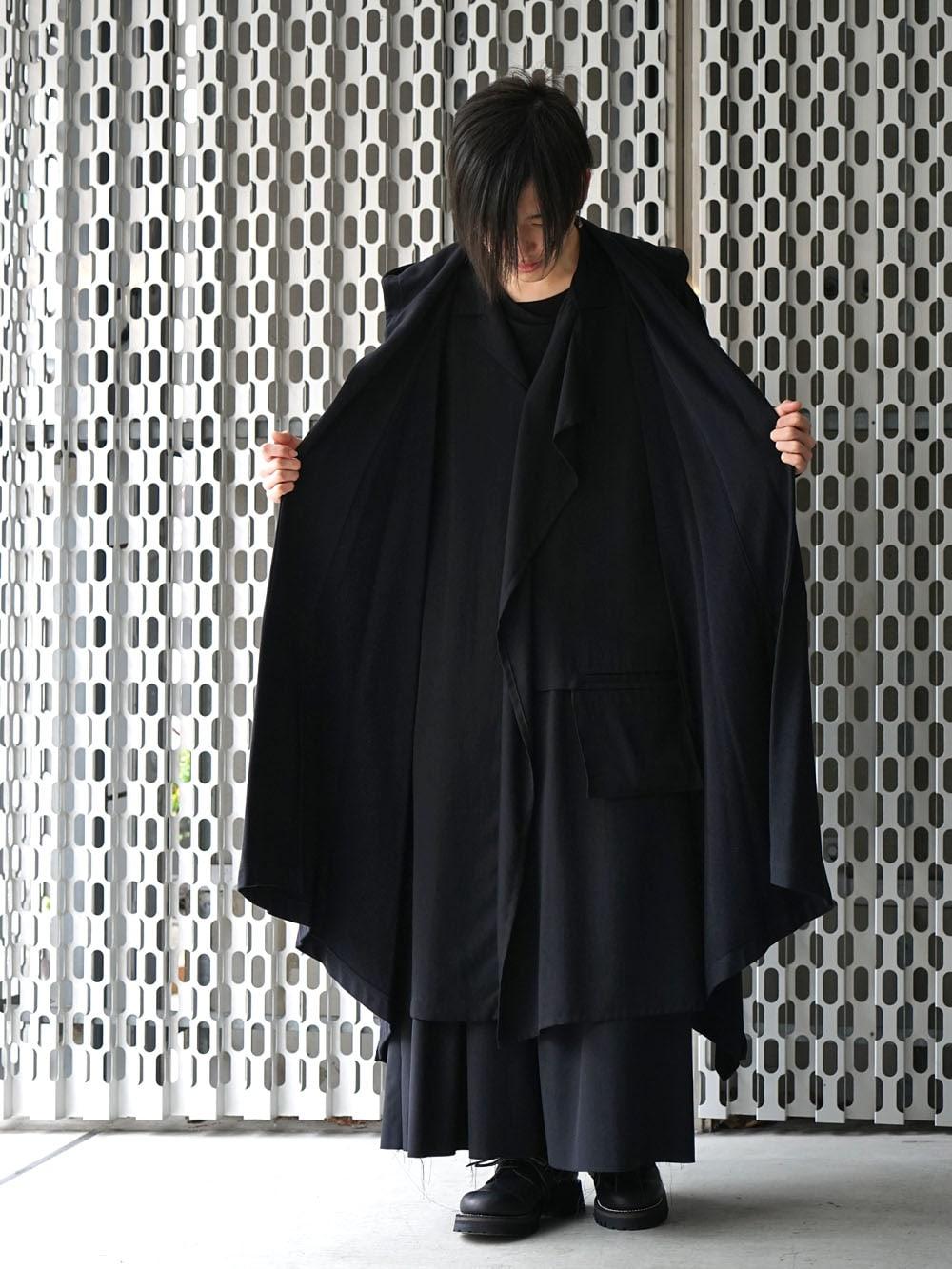 Ground Y × The Viridi-anne 20SS Black Drape Styling !! - 1-004