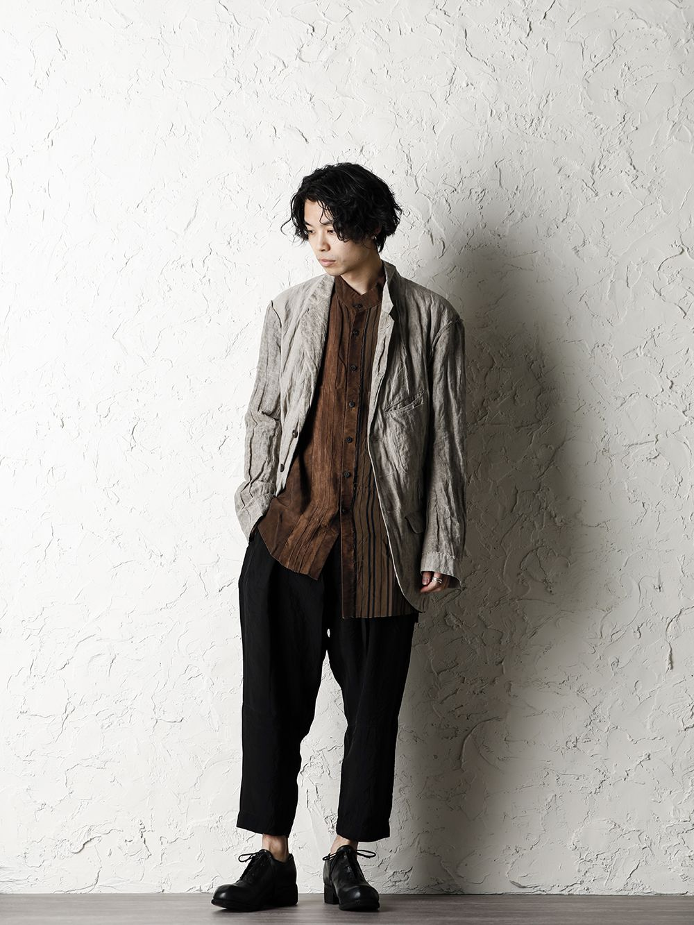 ZIGGY CHEN 20SS Earth Color Jacket Style - 1-001