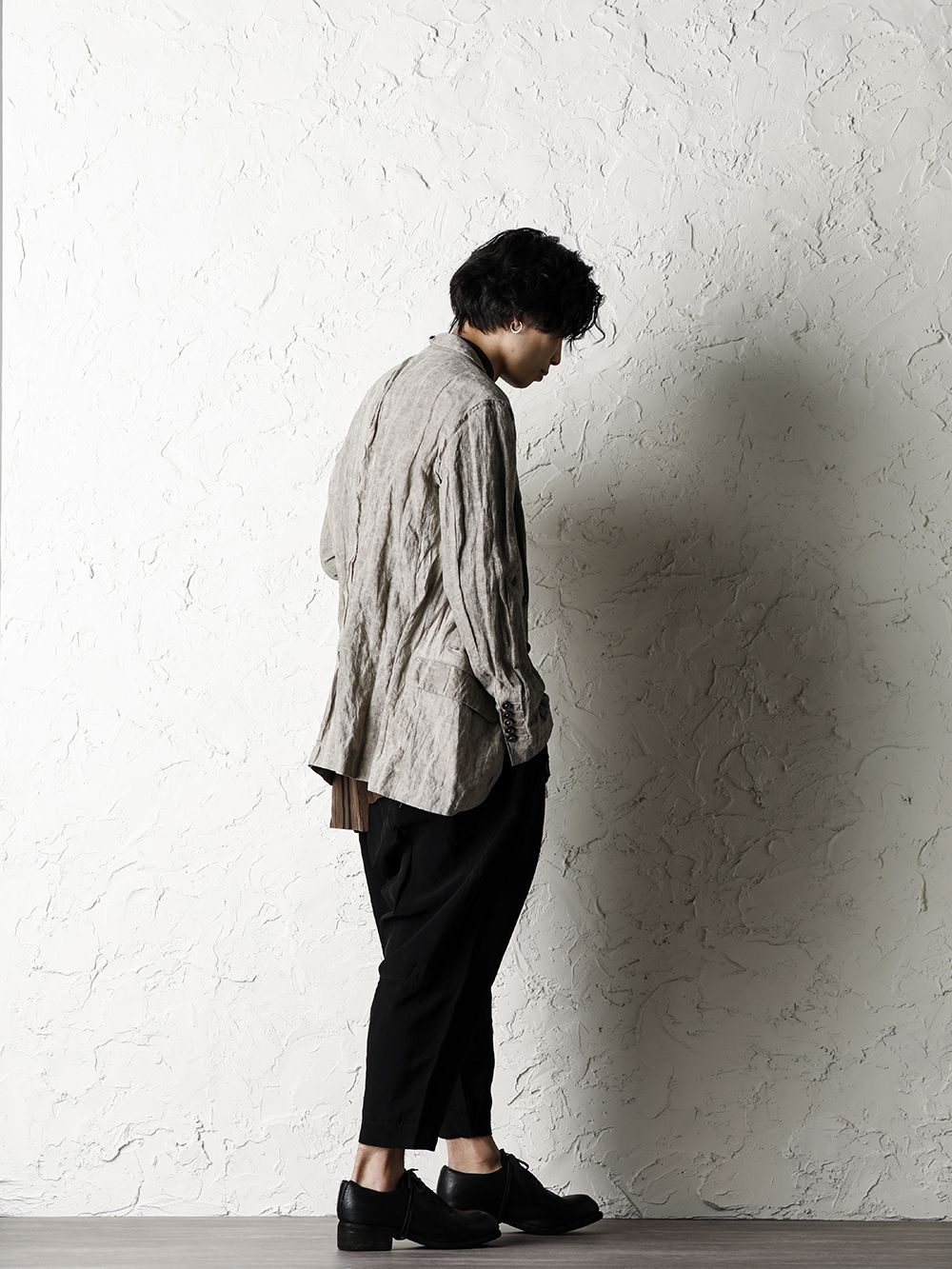 ZIGGY CHEN 20SS Earth Color Jacket Style - 1-002