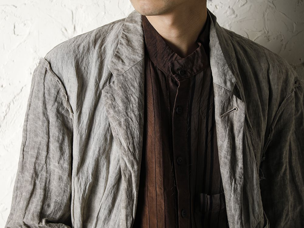 ZIGGY CHEN 20SS Earth Color Jacket Style - 2-002