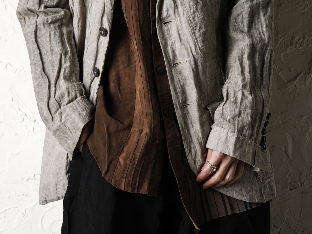 ZIGGY CHEN 20SS Earth Color Jacket Style - 2-003