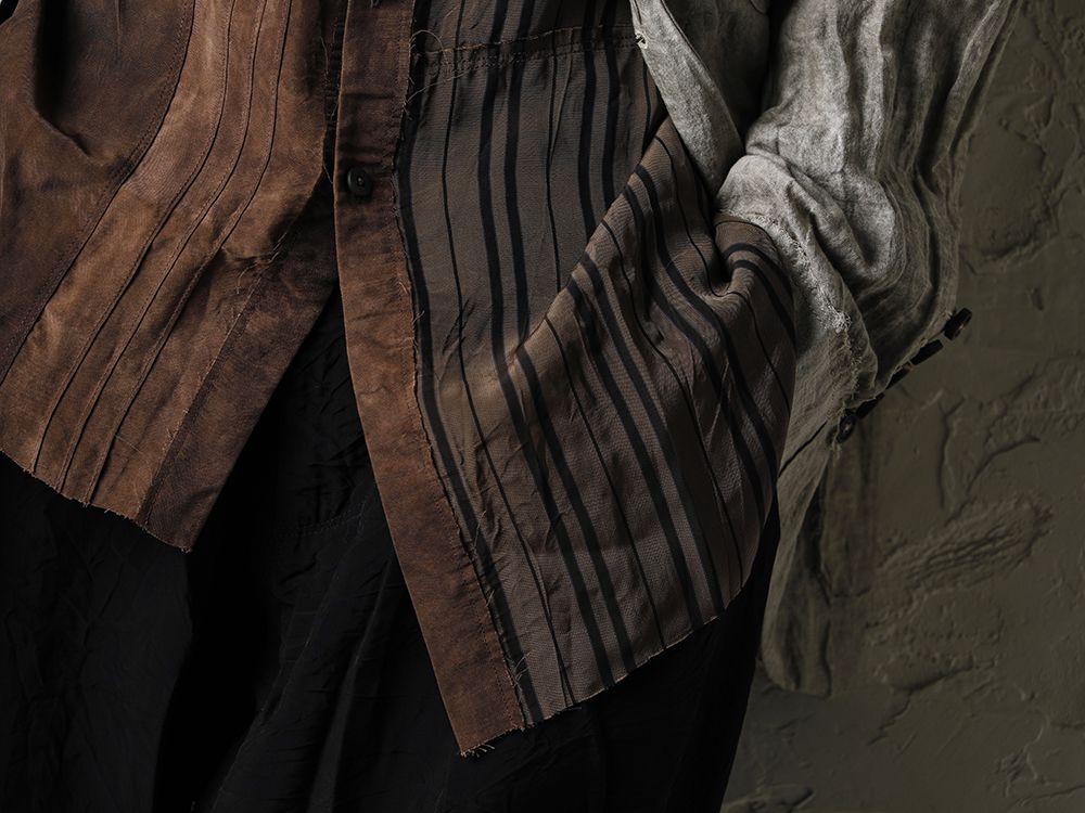 ZIGGY CHEN 20SS Earth Color Jacket Style - 2-004