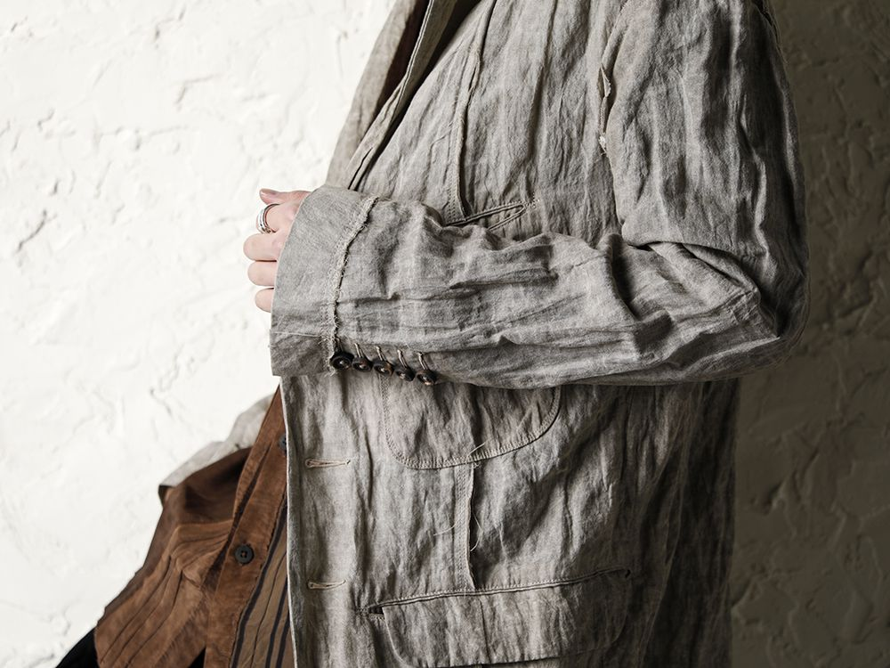 ZIGGY CHEN 20SS Earth Color Jacket Style - 3-001