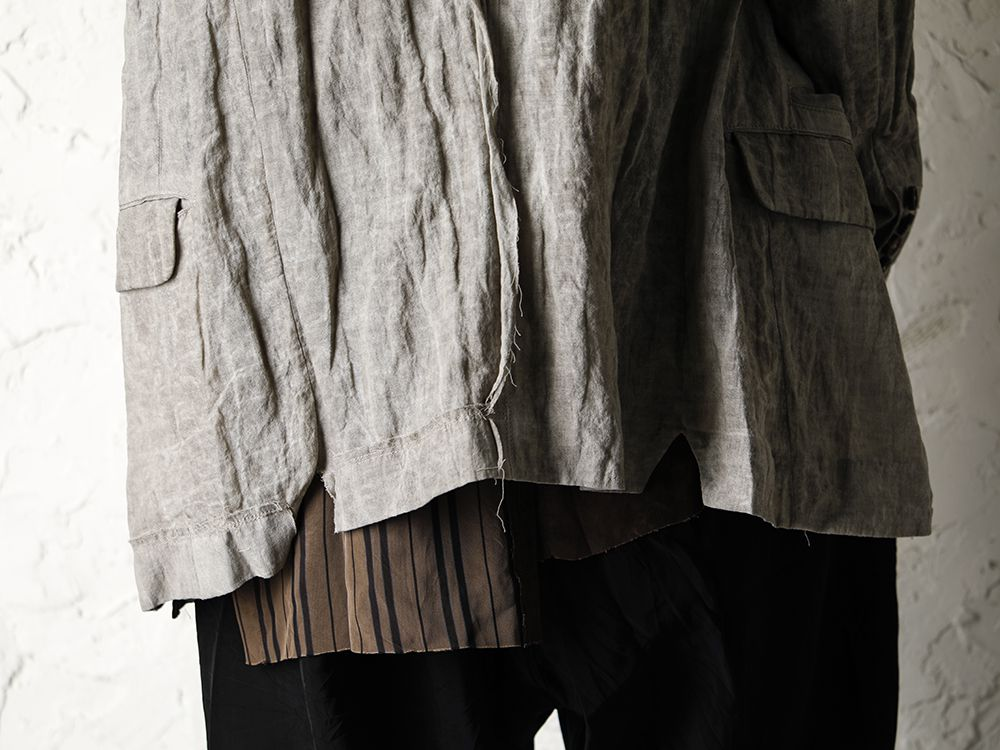 ZIGGY CHEN 20SS Earth Color Jacket Style - 3-002