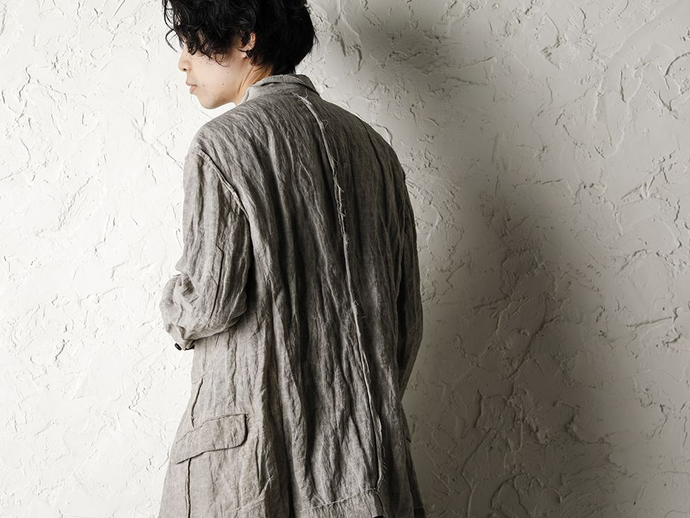 ZIGGY CHEN 20SS Earth Color Jacket Style - 3-003