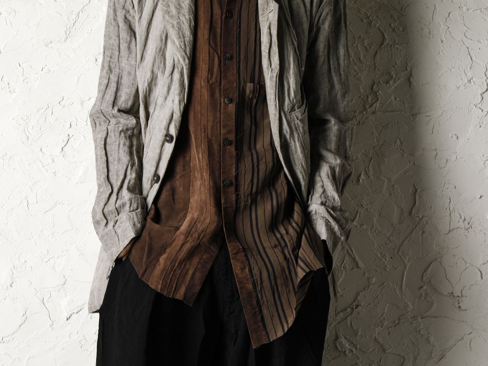 ZIGGY CHEN 20SS Earth Color Jacket Style - 3-004