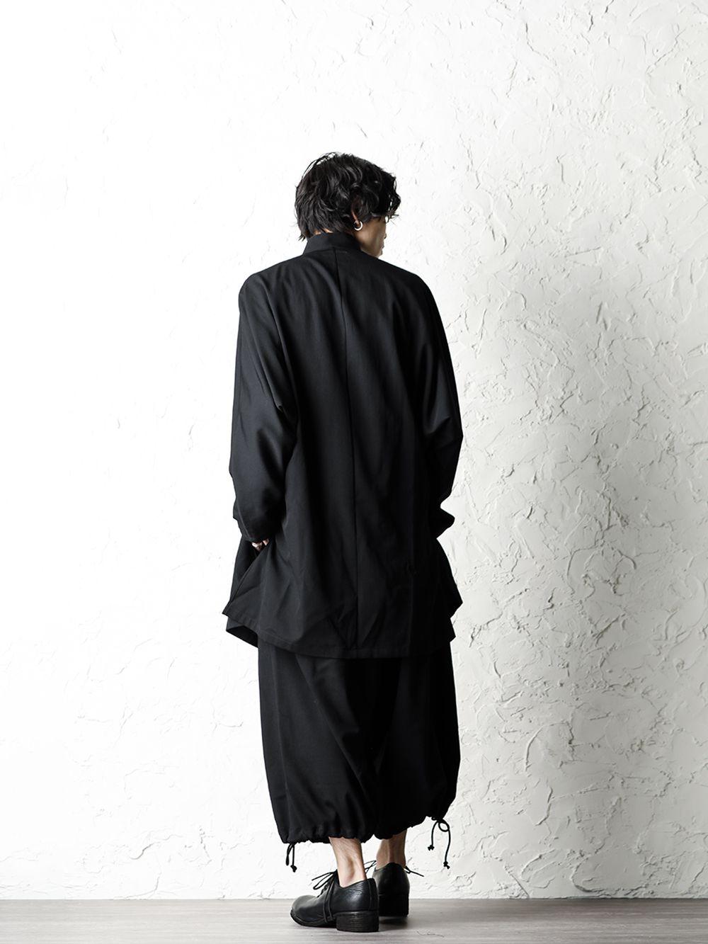 B Yohji Yamamoto 20SS Bow Dolman Sleeve Blouse - 1-003