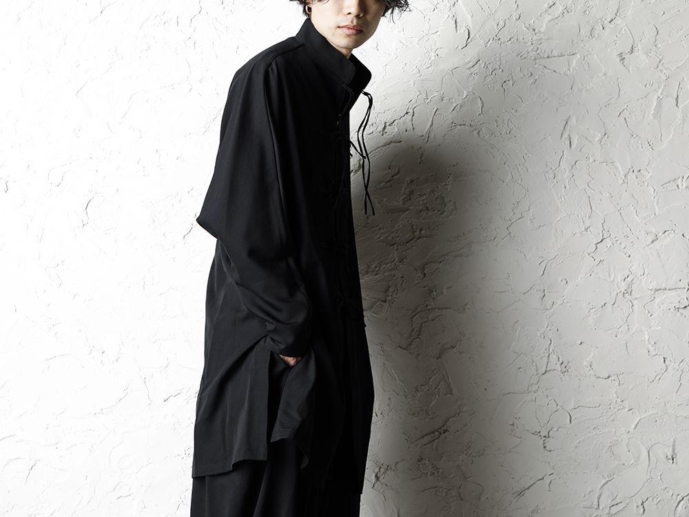 B Yohji Yamamoto 20SS Bow Dolman Sleeve Blouse - 2-004