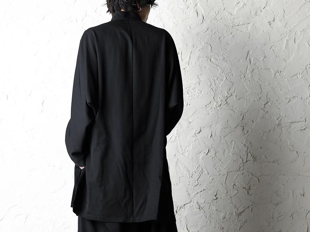 B Yohji Yamamoto 20SS Bow Dolman Sleeve Blouse - 2-006