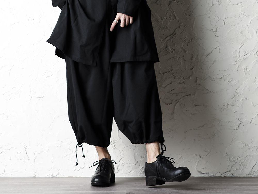 B Yohji Yamamoto 20SS Bow Dolman Sleeve Blouse - 3-001