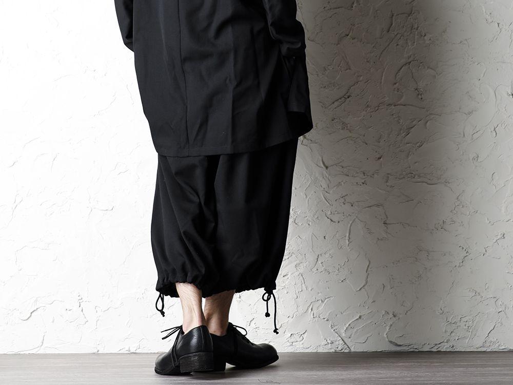 B Yohji Yamamoto 20SS Bow Dolman Sleeve Blouse - 3-003
