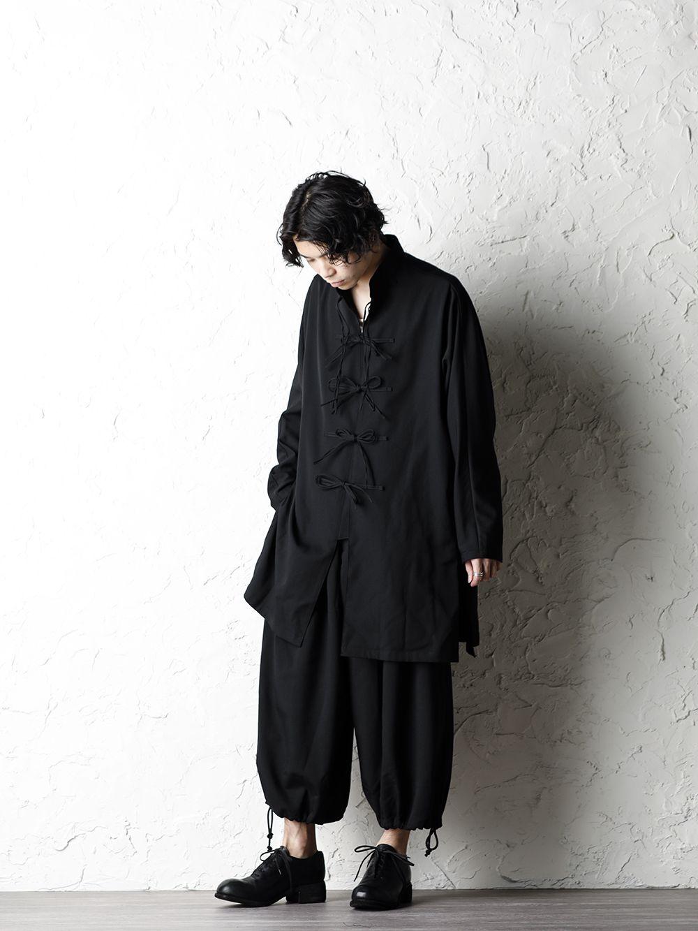 B Yohji Yamamoto 20SS Bow Dolman Sleeve Blouse - 4-001