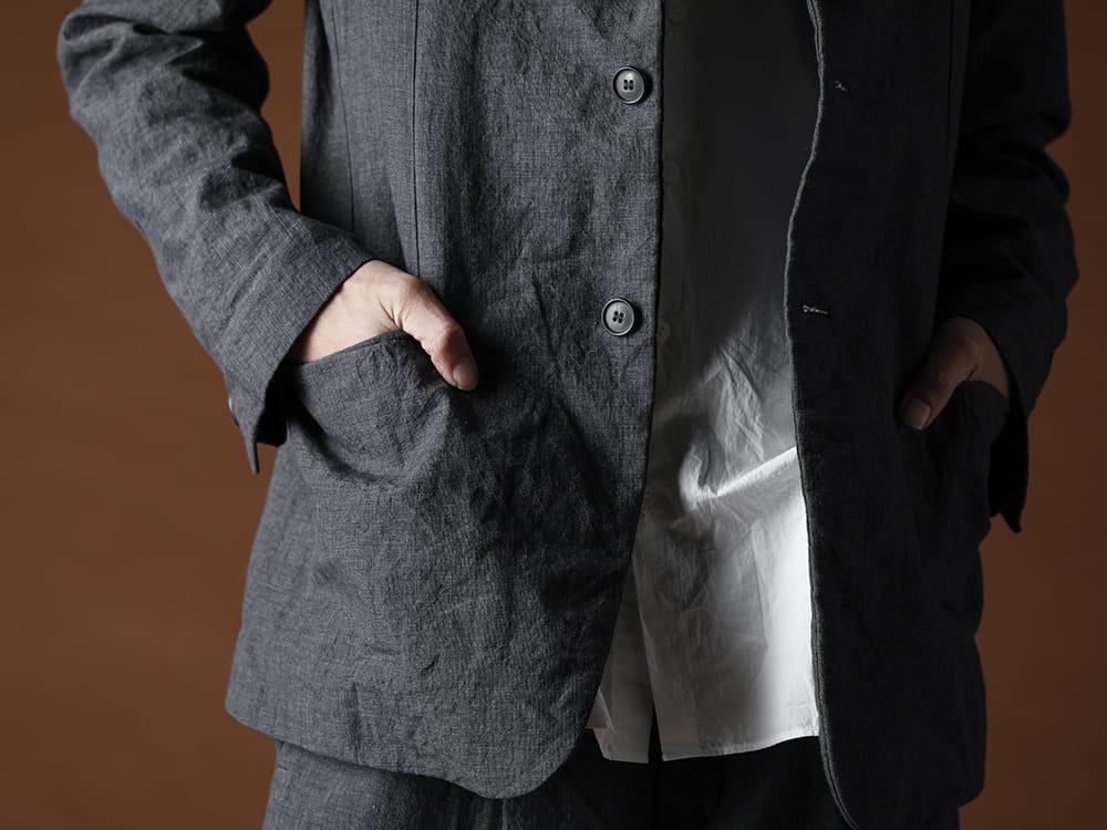 Bergfabel 20SS Summer jacket Navy Gray - 1-004