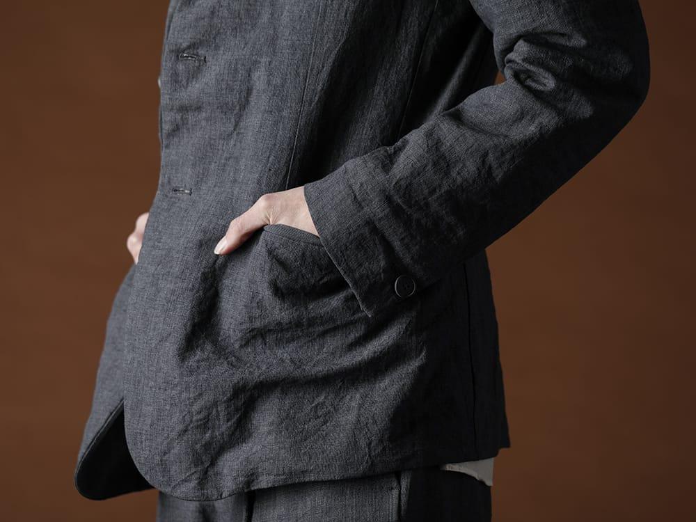 Bergfabel 20SS Summer jacket Navy Gray - 1-005