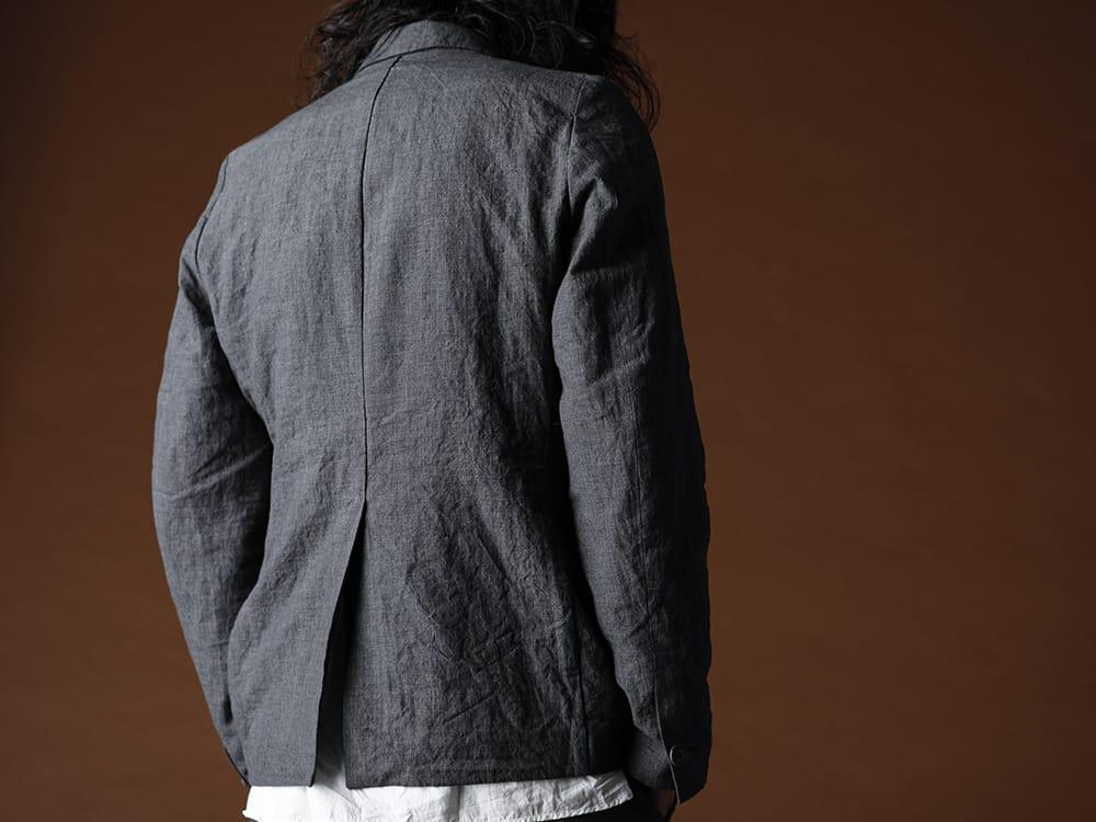 Bergfabel 20SS Summer jacket Navy Gray - 1-007