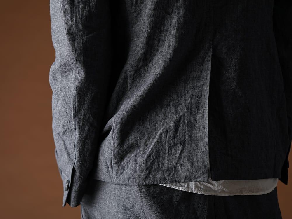Bergfabel 20SS Summer jacket Navy Gray - 1-009